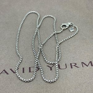 David Yurman Box Chain 1.7mm